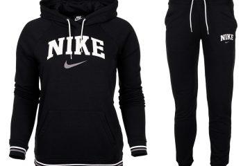 Dresy damskie Nike czarne